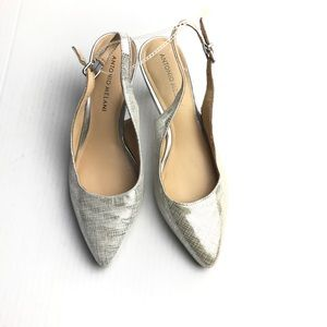 Antonio melani flat shoes size 7 1/2